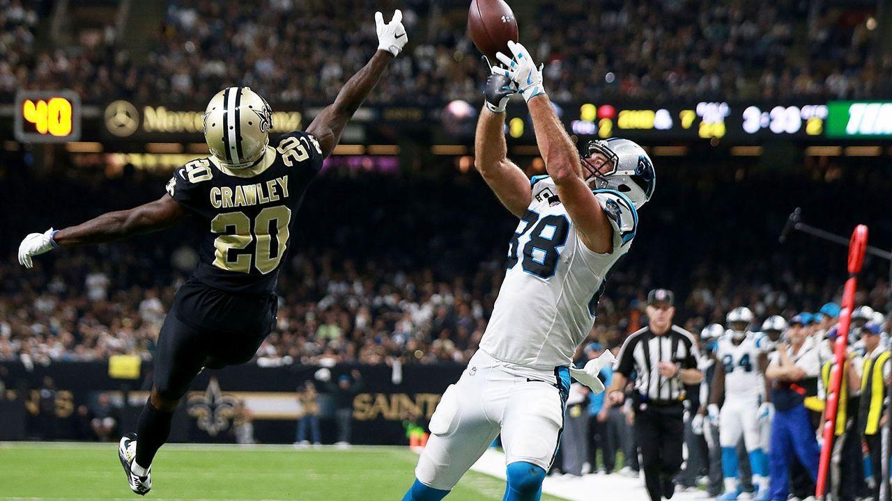 Greg Olsen (Carolina Panthers) - Bildquelle: 2018 Getty Images