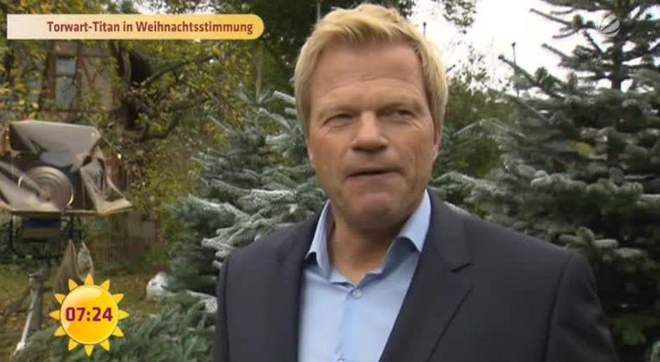 Frühstücksfernsehen - Video - Torwart-Titan in Weihnachtsstimmung ...