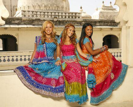 Hoffen auf internationalen Erfolg: die Cheetah Girls (v. l. n. r. Sabrina Bry...