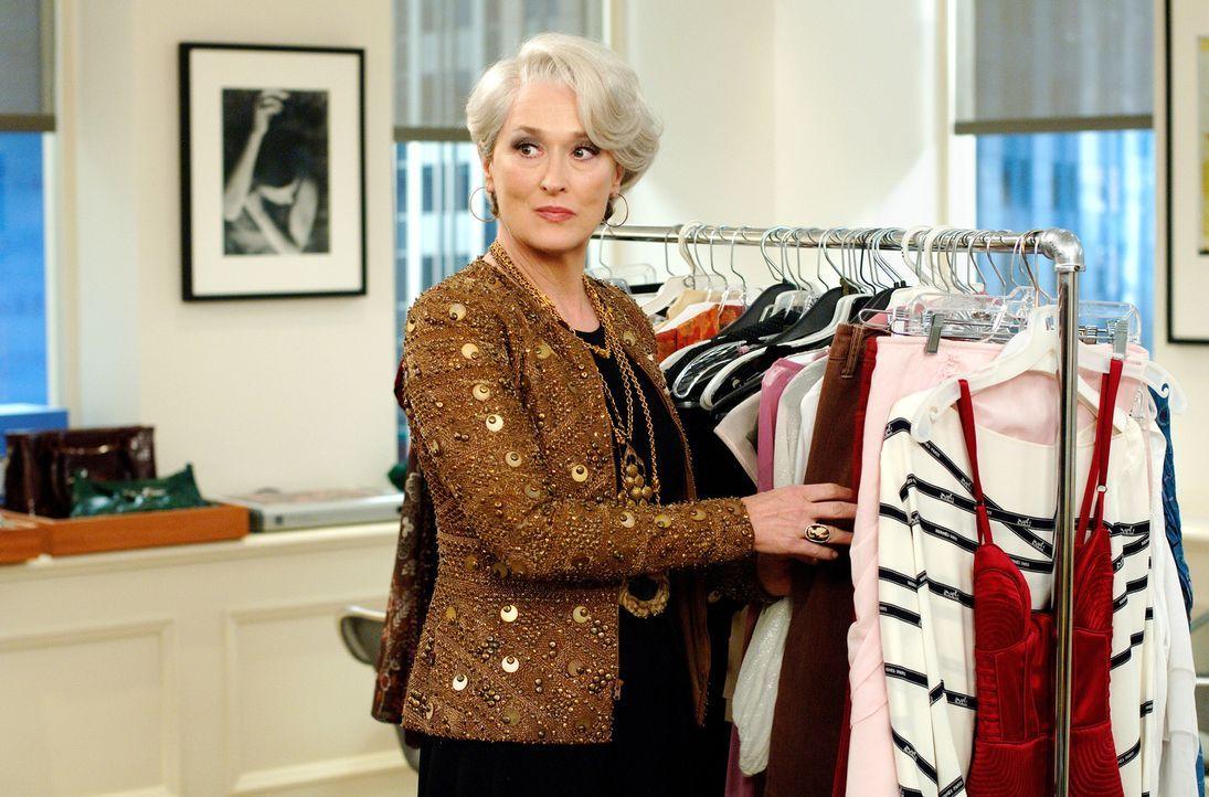 Was steckt wirklich hinter der eiskalten, manipulativen und modebesessene Miranda (Meryl Streep)? - Bildquelle: 2006 Twentieth Century Fox