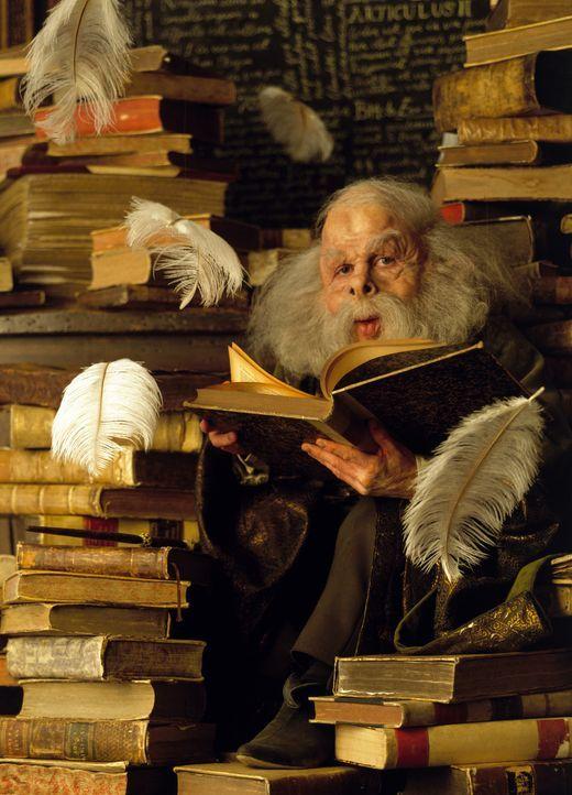 Unterrichtet die Neuzugänge der berühmten Hogwart Schule für Zauberei: Professor Flitwick (Warwick Davis) ... - Bildquelle: Warner Bros. Pictures