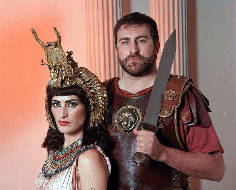 Das Liebesdrama von Marcus Antonius und der ägyptischen Königin Cleopatra sowie die mysteriösen Umstände ihres Todes beflügelten die Fantasie der Me... - Bildquelle: CHANNEL 4 TELEVISION CORPORATION MMII