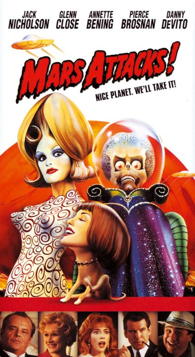 """Mars Attacks!"" - Plakat - Bildquelle: Warner Bros. Pictures"