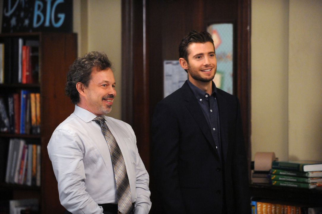 New Girl Staffel 4: Curtis Armstrong und Julian Morris - Bildquelle: Fox Broadcasting Company