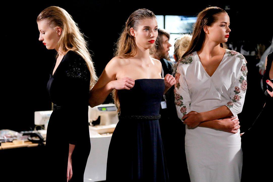GNTM-Stf11-Epi01-erste-fashion-show-22-ProSieben-Huebner - Bildquelle: ProSieben/Richard Huebner