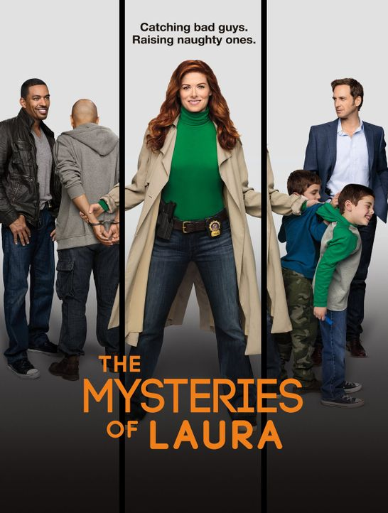 (1. Staffel) - The Mysteries of Laura - Plakatmotiv - Bildquelle: Warner Bros. Entertainment, Inc.
