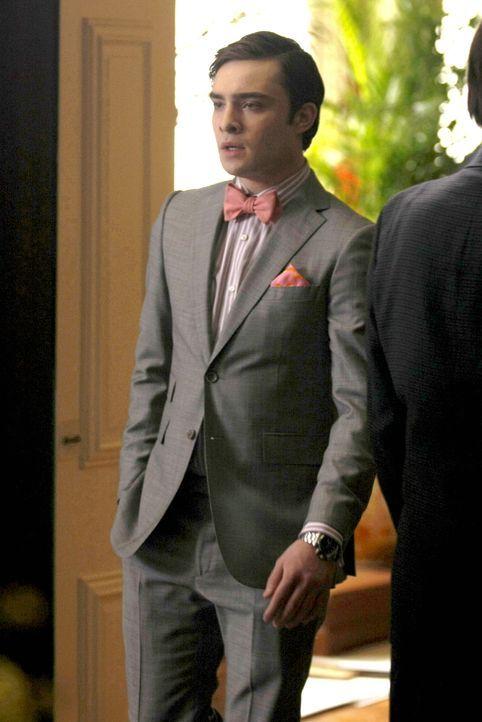 Hat Angst Blair zu verlieben: Chuck (Ed Westwick) ... - Bildquelle: Warner Brothers