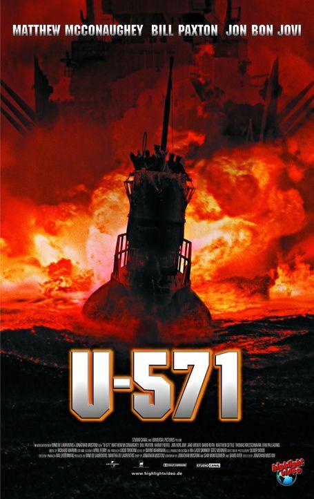 Während des Zweiten Weltkriegs erhält Commander Mike Dahlgren einen höchst brisanten Auftrag. Er soll das deutsche U-Boot U-571, das hilflos mit... - Bildquelle: 2000 Universal Pictures. All Rights Reserved