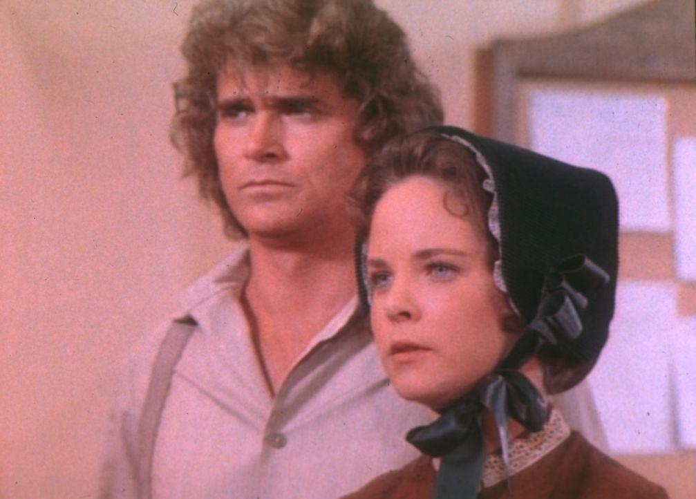 Mit einem hervorragenden Plädoyer erwirkt Mary (Melissa Sue Anderson, r.), dass ihr Mann Adam die Prüfung wiederholen kann. Charles (Michael Lando... - Bildquelle: Worldvision