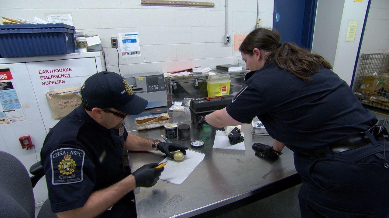 Alle Hände voll zu tun: Grenzbeamte bei ihrer täglichen Arbeit ... - Bildquelle: Force Four Entertainment / BST Media 2 Inc.