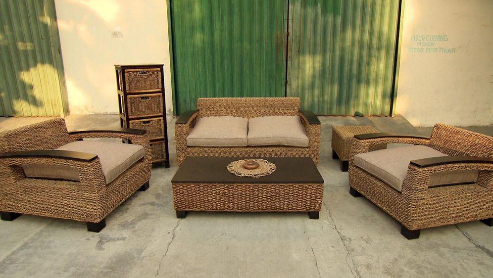 Seegras-Möbel