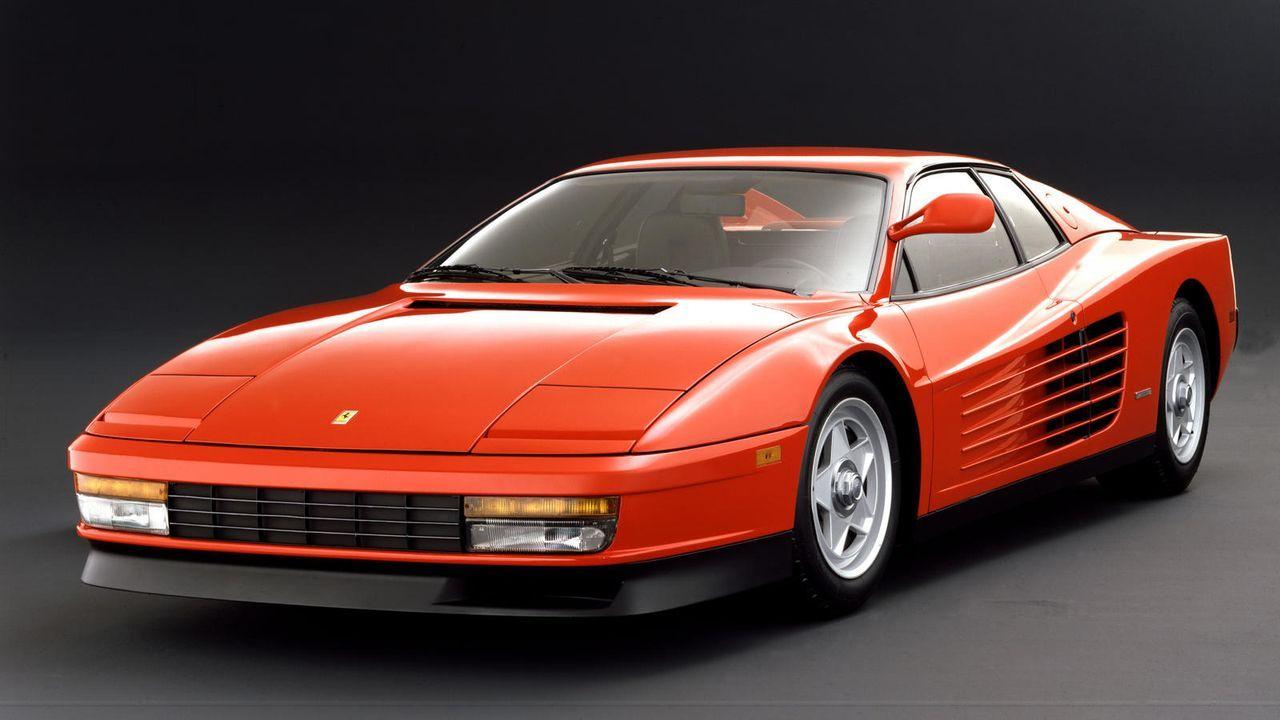Platz 3: Ferrari Testarossa - Bildquelle: Ferrari