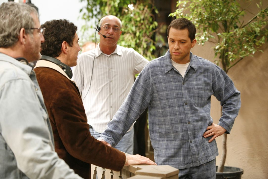 Bei den Dreharbeiten ... - Bildquelle: Warner Brothers Entertainment Inc.