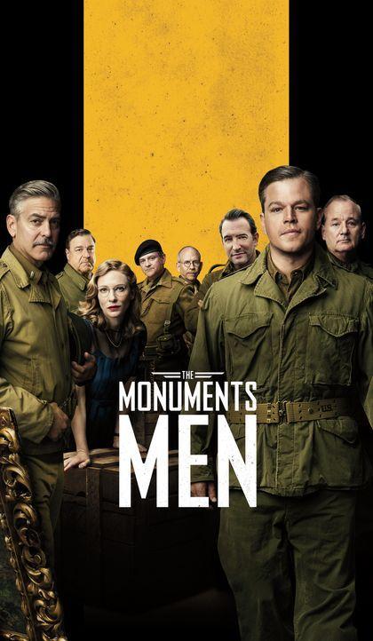 MONUMENTS MEN - UNGEWÖHNLICHE HELDEN - Plakatmotiv - Bildquelle: 2014 Columbia Pictures Industries, Inc. and Twentieth Century Fox Film Corporation.  All rights reserved.