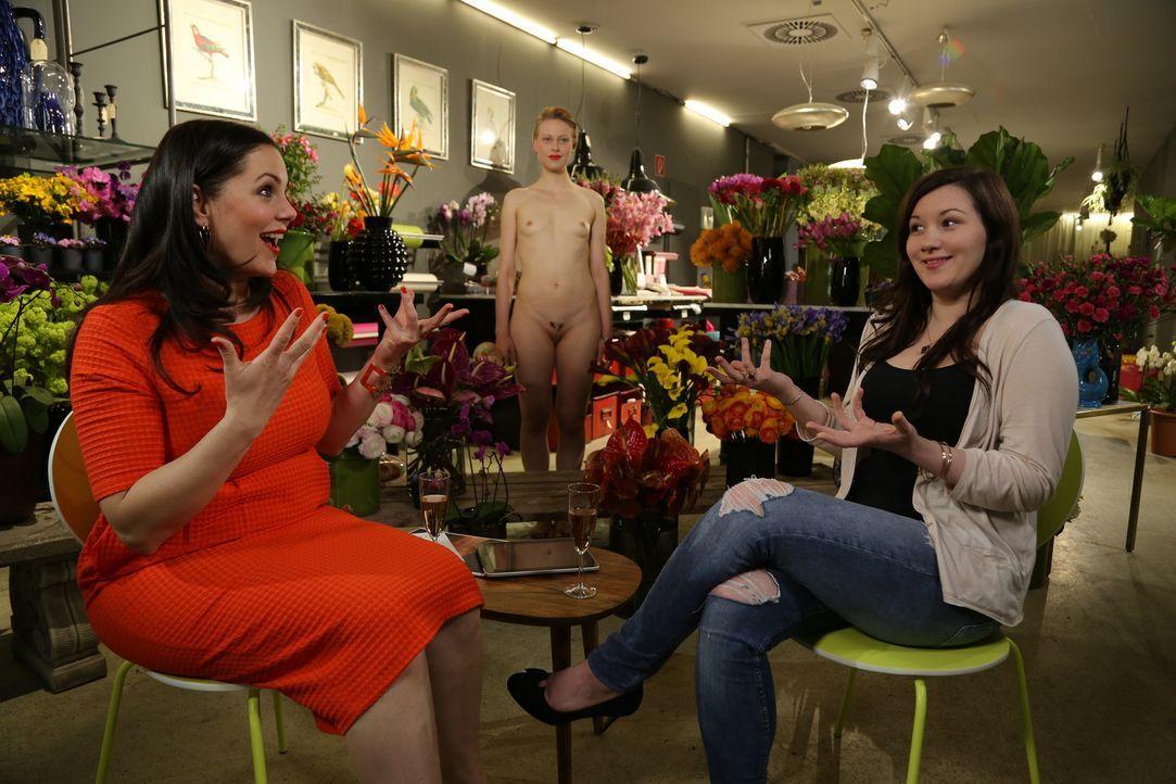 Negative Kommentare von Männern trieben Paulas (l.) heutigen Gast Agi (r.) fast dazu, ihre Vagina operieren zu lassen ... - Bildquelle: sixx