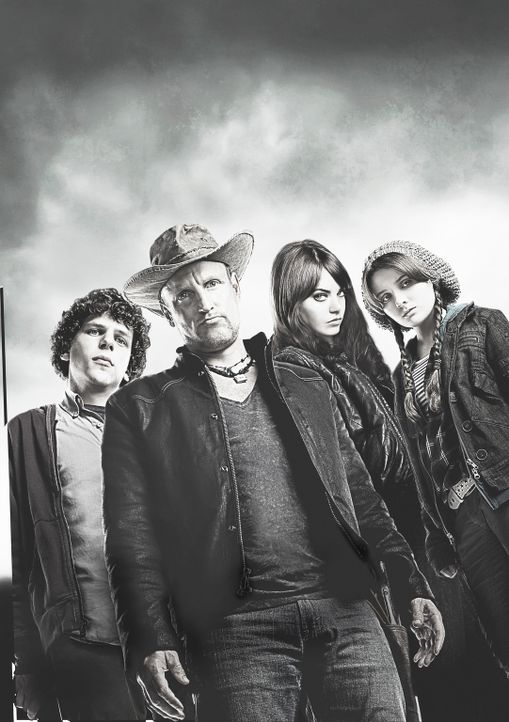 ZOMBIELAND - Artwork - Bildquelle: 2009 Columbia Pictures Industries, Inc. and Beverly Blvd LLC. All Rights Reserved.