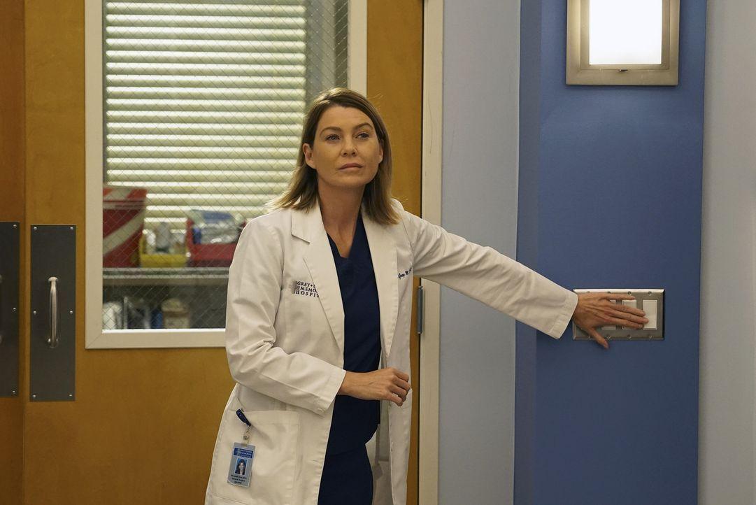 Kämpft um das Leben ihrer Patientin: Meredith (Ellen Pompeo) ... - Bildquelle: Richard Cartwright ABC Studios