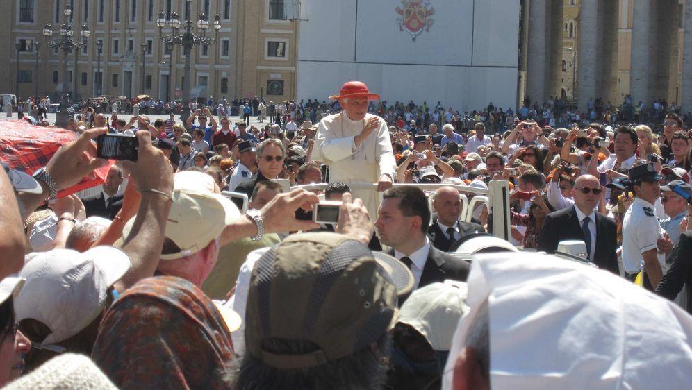 Willkommen Papst Benedikt