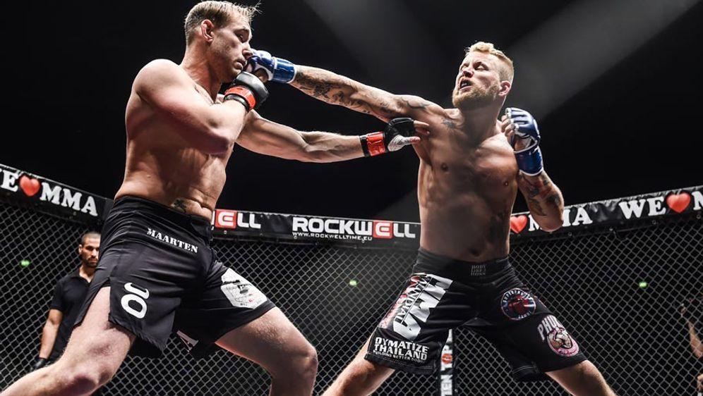 Mario Wittmann (r.) will den ersten We love MMA-Titel überhaupt gewinnen - Bildquelle: We love MMA