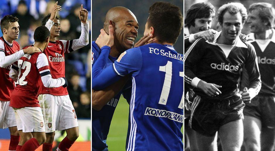Wie Schalke: Diese Teams haben 0:4-Rückstande aufgeholt - Bildquelle: Getty Images/Imago