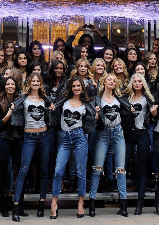 Alessandra-Ambrosio-Victoria-Secret-14-12-01-dpa - Bildquelle: usage Germany only, Verwendung nur in Deutschland