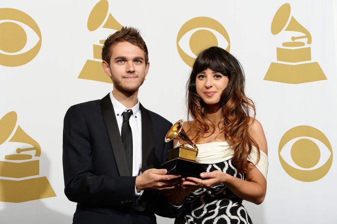 Grammy-Awards-Anton-Zaslavski-Louisa-Rose-Allen-14-01-26-AFP - Bildquelle: AFP