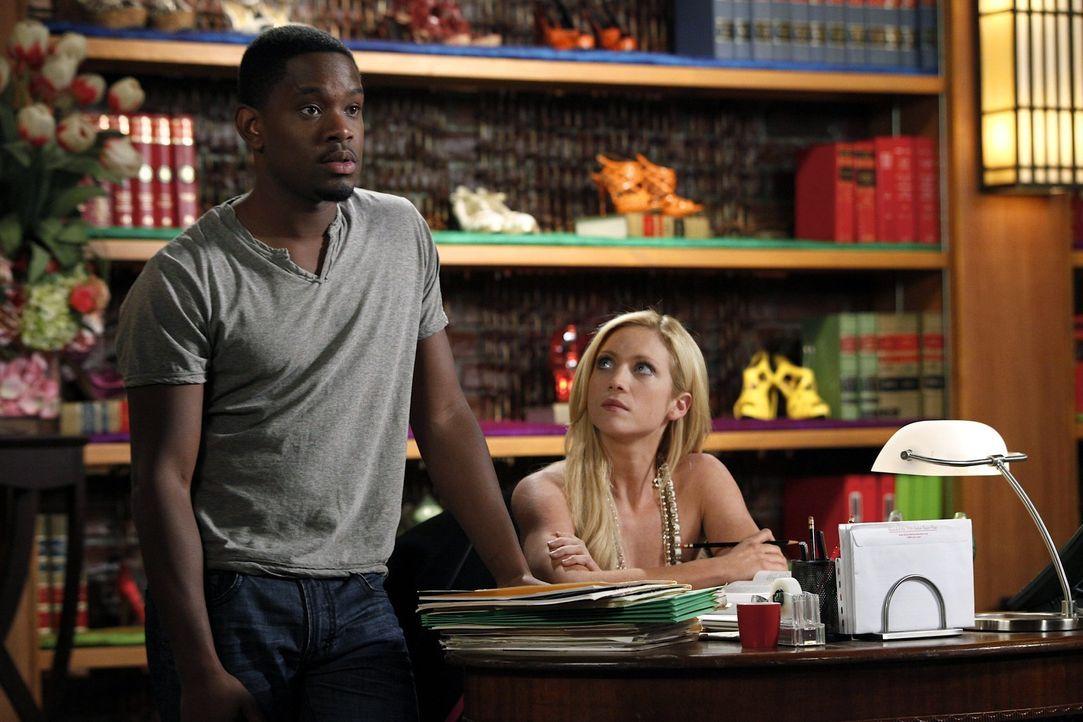 Nach und nach, kommen sich Malcolm (Aml Ameen, l.) und Jenna (Brittany Snow, r.) näher ... - Bildquelle: Warner Bros. Television