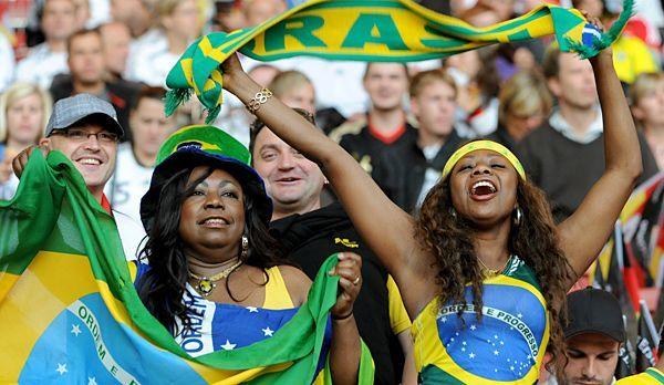 WM-Brasilien-Fans - Bildquelle: dpa