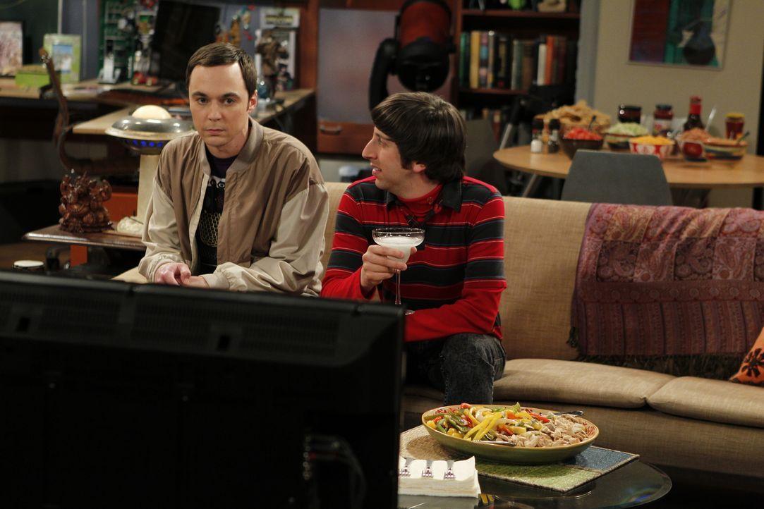 Werden sie Freunde bleiben? Sheldon (Jim Parsons, l.) und Howard (Simon Helberg, r.) ... - Bildquelle: Warner Bros. Television