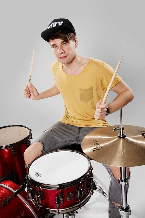 Die-Band-Drummer-Yuri-02-ProSieben-Richard-Huebner - Bildquelle: ProSieben/Richard Hübner