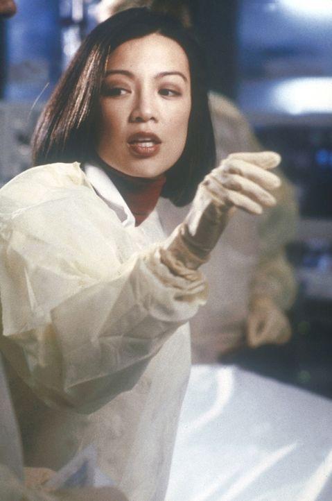 Jin-Mei Chen (Ming-Na Wen) kommt als neue Kollegin ans County. - Bildquelle: TM+  2000 WARNER BROS.