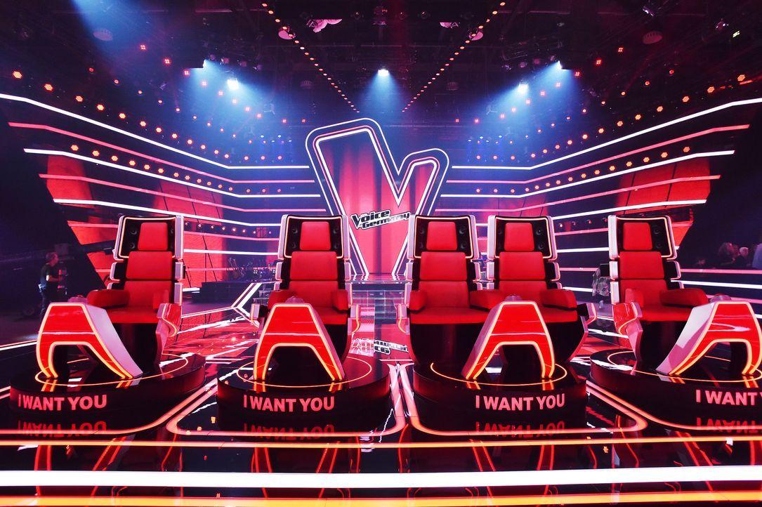 Die Coach-Stühle - Bildquelle: ProSieben / Andre Kowalski