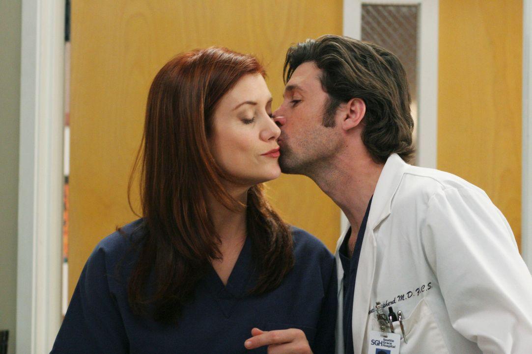 Sind sie wirklich glücklich?: Addison (Kate Walsh, l.) und Derek (Patrick Dempsey, r.) ... - Bildquelle: Touchstone Television