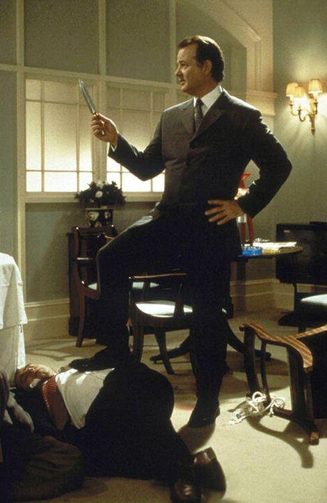 Hat die Lizenz zum Totlachen: der vertrottelte Wally (Bill Murray) ... - Bildquelle: Warner Bros.