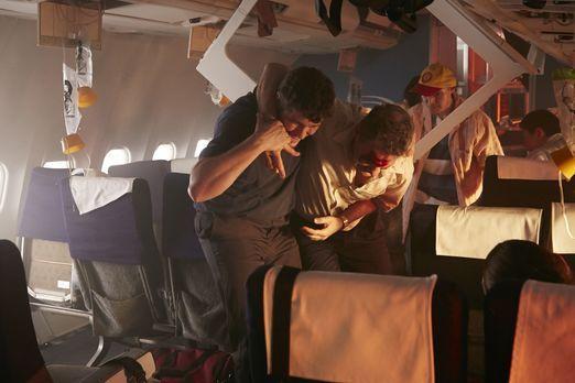 Auf ihrem Flug von Jakarta nach Yogyakarta verläuft eigentlich alles nach Pla...