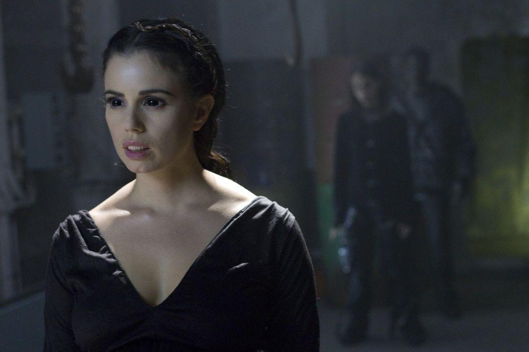 Ein Jahr nach der Ermordung ihres Mannes durch die untote Vampirkönigin Lilith (Mia Kirshner) schließt sich Stella einer Gruppe von Menschen an, d... - Bildquelle: 2010 Stage 6 Films, Inc. All Rights Reserved.