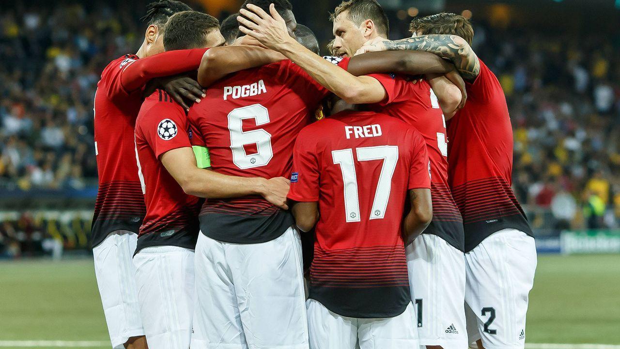 Platz 8: Manchester United - Bildquelle: imago/DeFodi