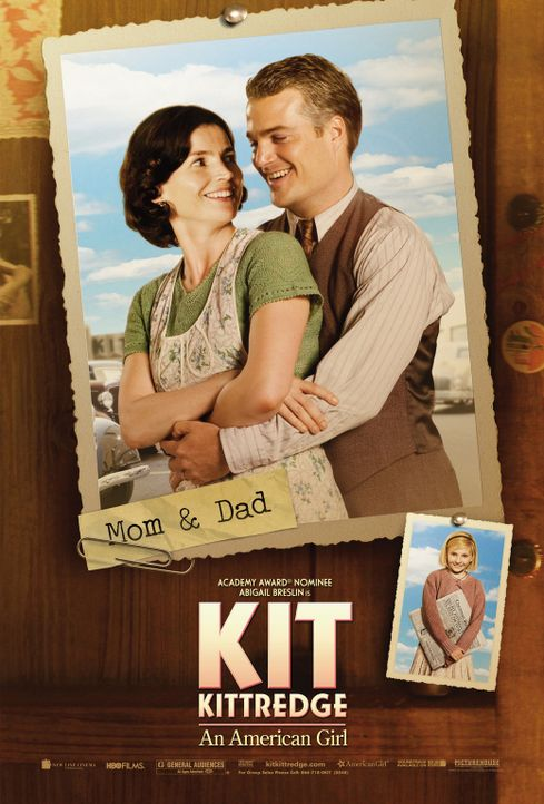 KIT KITTREDGE - mit Julia Ormond (l.) und Chris O'Donnell (r.) - Bildquelle: Warner Brothers
