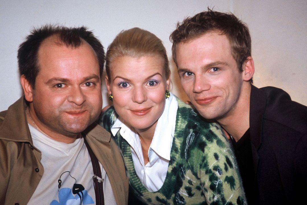 v.l.n.r.: Markus Majowski, Mirja Boes und Ralf Schmitz - Bildquelle: Stephan Power Sat.1