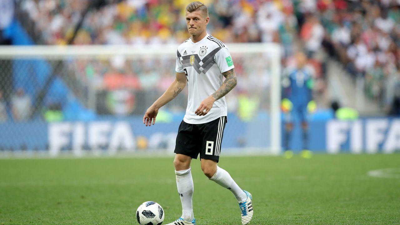 Defensives Mittelfeld: Toni Kroos - Bildquelle: 2018 Getty Images