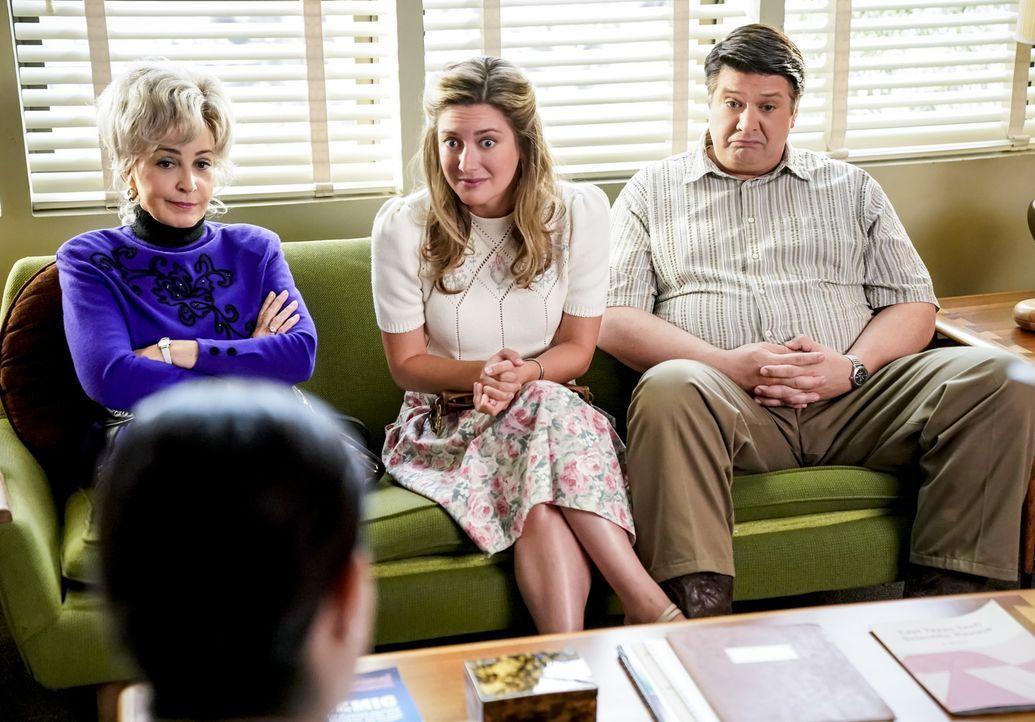 (v.l.n.r.) Meemaw (Annie Potts); Mary (Zoe Perry); George Sr. (Lance Barber) - Bildquelle: Erik Voake 2018 CBS Broadcasting, Inc. All Rights Reserved./Erik Voake