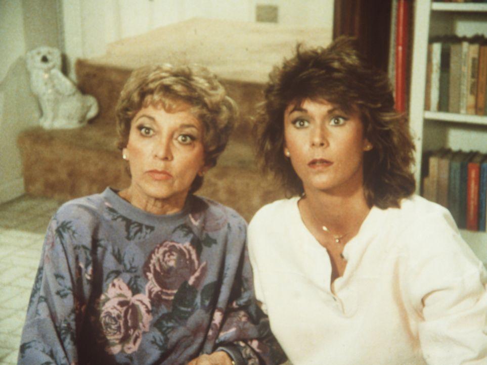 Dotty (Beverly Garland, l.) und ihre Tochter Amanda (Kate Jackson) haben einigen Grund zum Staunen ...