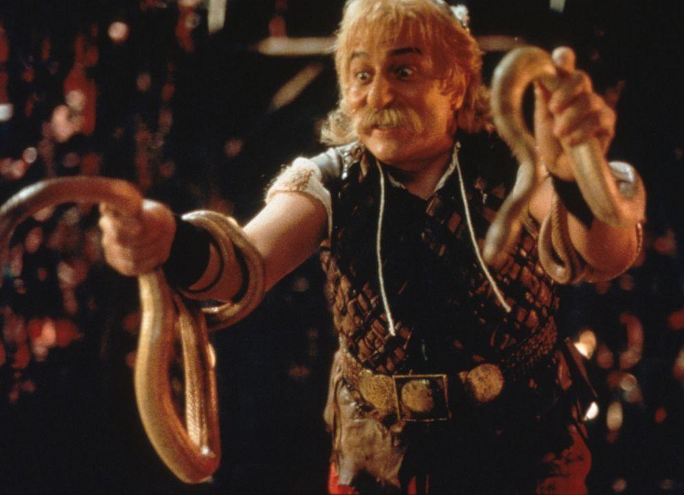 Nachdem Miraculix entführt wurde, sind die Gallier geschockt und beauftragen den mutigen Asterix (Christian Clavier) und dessen Freund Obelix, den... - Bildquelle: Constantin Film