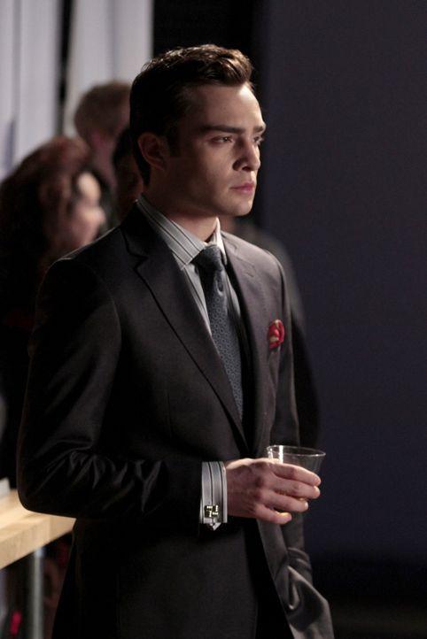 Chuck (Ed Westwick) will nicht, dass Blair wieder datet und verhindert deshalb ihre Party. - Bildquelle: Warner Brothers