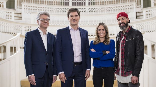 Die Jury von Start Up!: Dr. Klaus Schieble, Carsten Maschmeyer, Lea Lange, Ma...