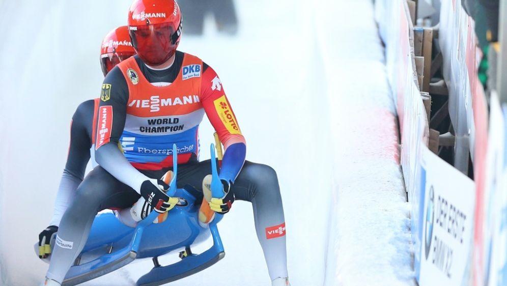 Oberhof: Sieg für Eggert (vorne) und Benecken - Bildquelle: AFPGETTY SIDMaddie Meyer