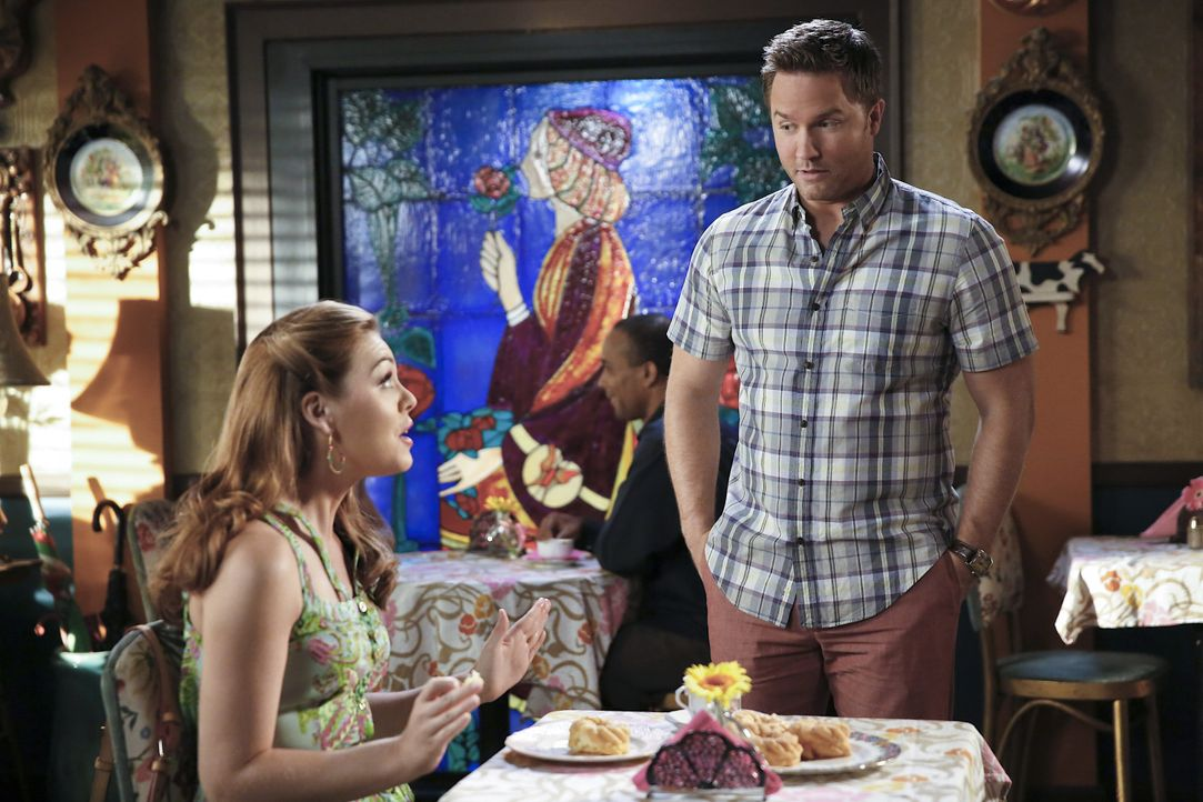 Hart of Dixie: Annabeth und George haben ein Date - Bildquelle: Warner Bros. Entertainment Inc.