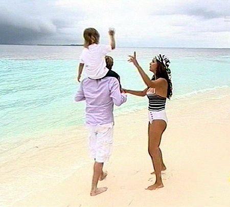 Bildergalerie Verona auf den Malediven - Bildquelle: Sat 1