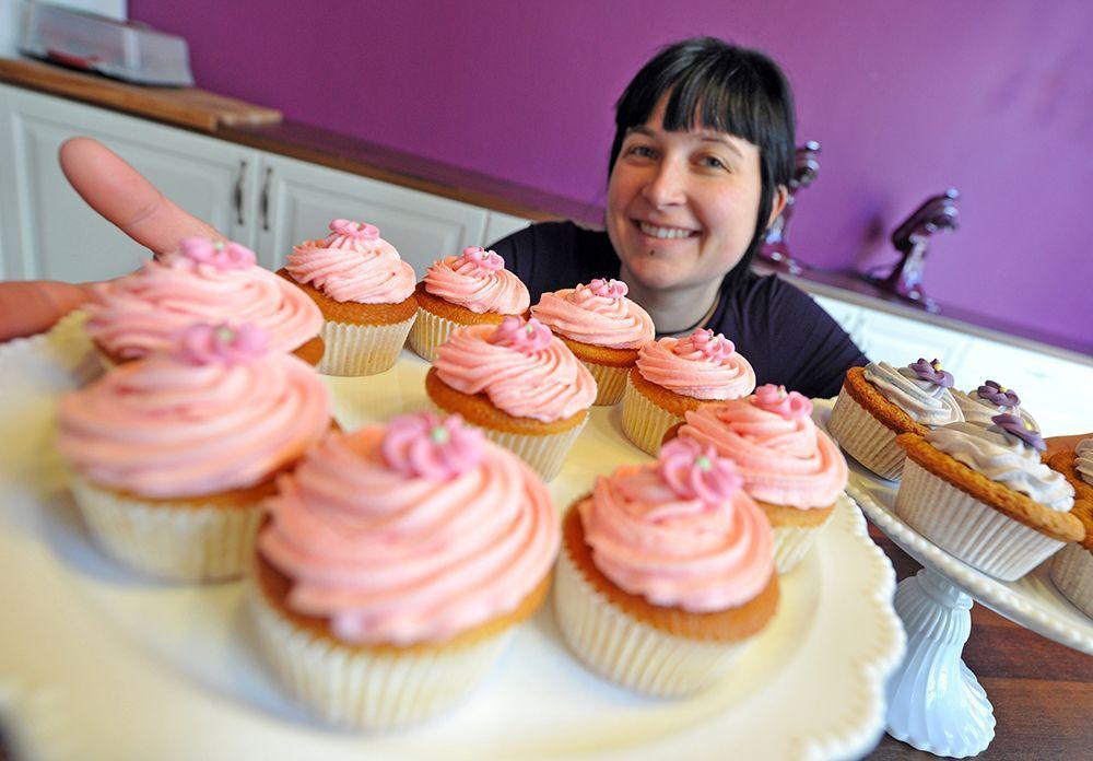 cupcakes-dpa - Bildquelle: Verwendung weltweit, usage worldwide