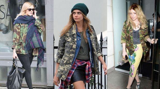 Der Mode-Trend Camouflage ist diesen Sommer wieder total angesagt! Der Milita...